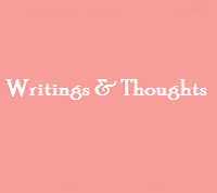 Thoughts In Words